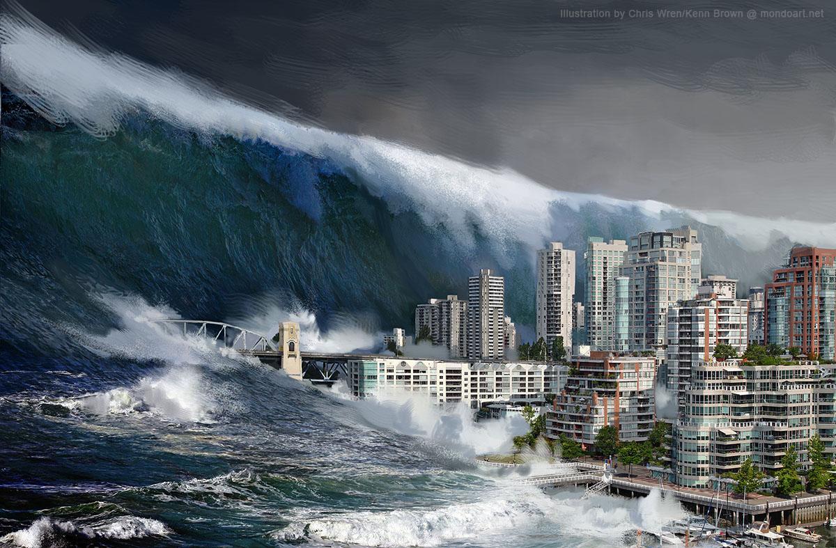 Asal-Usul Terjadinya Tsunami