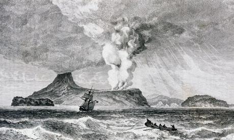 Dahsyatnya Letusan Krakatau 1883